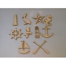 Nautical Template Set
