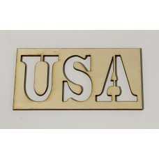 USA Stencil Layout Template