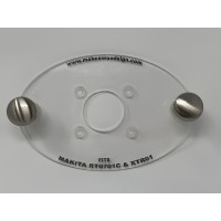 Acrylic Router Base Plate For Makita RT0701C