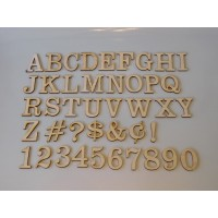 "1.5"" Layout Letter Set Clarendon"