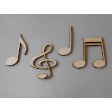Musical Note Layout Templae Set