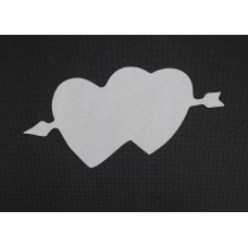 Paper Cutout Pattern - Cupid Hearts