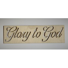 Glory to God Layout Template