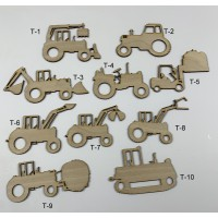 Tractor Layout Template Set