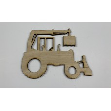 Tractor #1 Layout Template