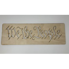 WE THE PEOPLE Layout Template