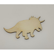 Triceratops Layout Template
